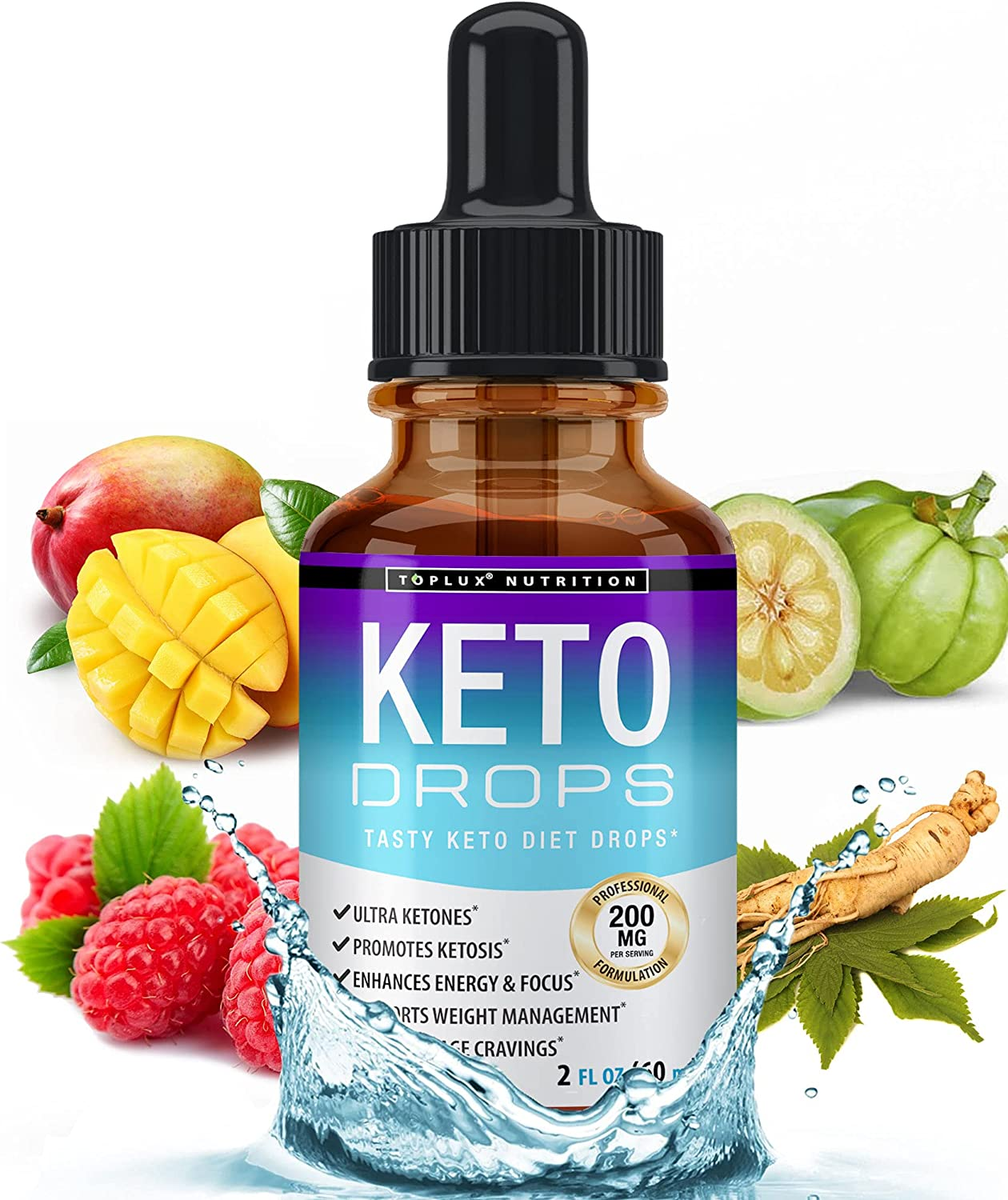 Keto Free shipping Diet Drops Weight Loss Ketogenic B Premium Jacksonville Mall Fat - Supplement