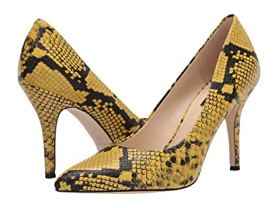 Nine West Flax Pump (Yellow) High Heels