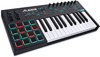 Alesis VI25 | 25-Key USB MIDI Keyboard Controller with 16 Pa