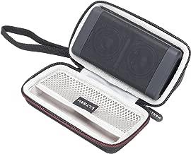 LTGEM Case for OontZ Angle 3 Portable Bluetooth Speaker with Mesh Pocket-Black