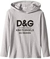 Dolce & Gabbana Kids - Kings Hoodie (Little Kids)