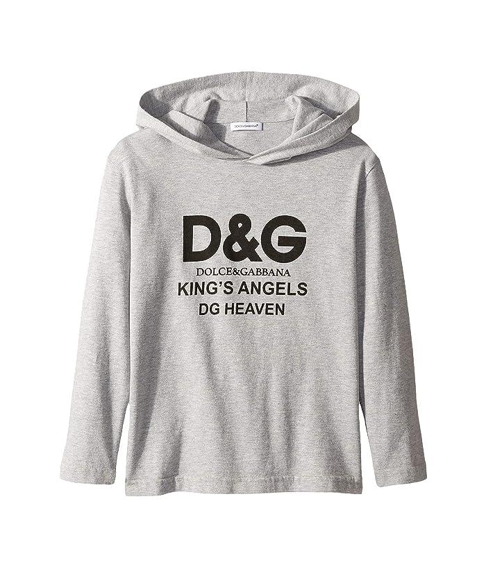 Kings Hoodie (Little Kids) Grey Melange