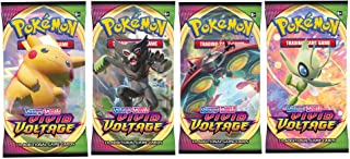 Pokemon Vivid Voltage 4 Booster Packs Sold and Shipped by DAN123YAL TOYS+