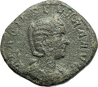 247 IT OTACILIA SEVERA Philip I wife 247AD Sestertius An coin Good