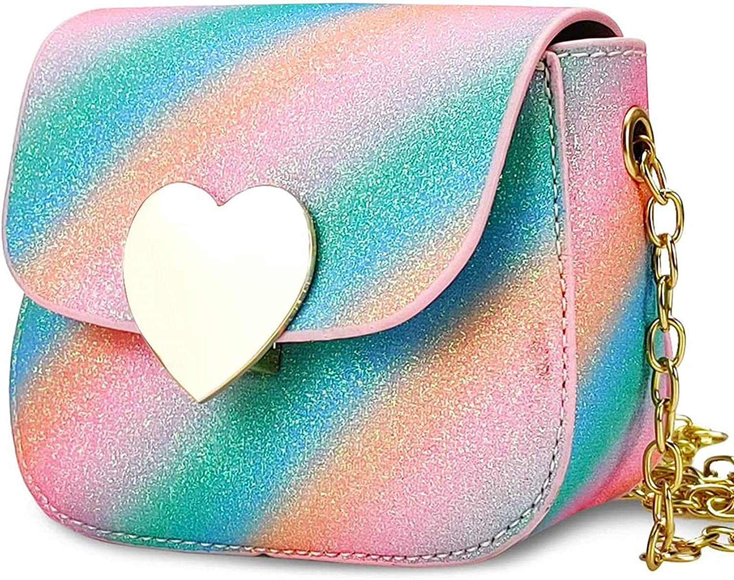 Mini Purse Sale for Toddler Max 61% OFF Little Girls Shape Sparkly Lock Heart Cro