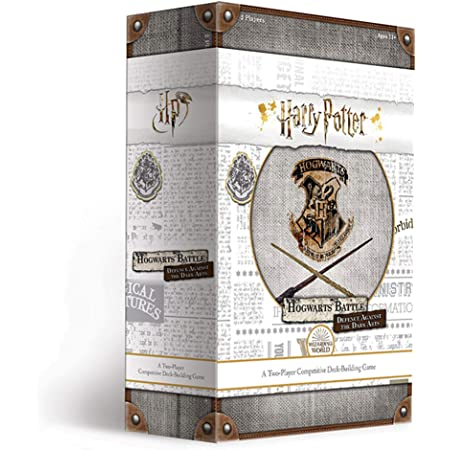 USAOPOLY Harry Potter Hogwarts Battle Defence Against The Dark Arts | Competitive Deck Building Game | Officially Licensed Harry Potter Merchandise | Harry Potter Board Game (DB010-512-001800-06)