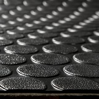 RecPro RV Coin Flooring | Black | 8' 6