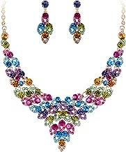 Best multicolor fashion necklace Reviews