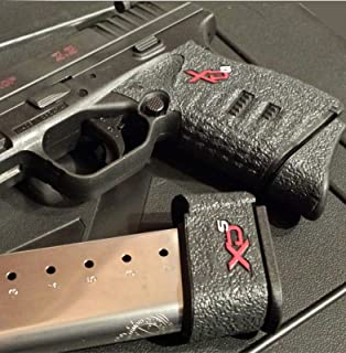 Talon Grip Springfield XD-S 9mm/ .40/ .45 Small Backstrap 207R W/Two Extended Mag Grips 236R