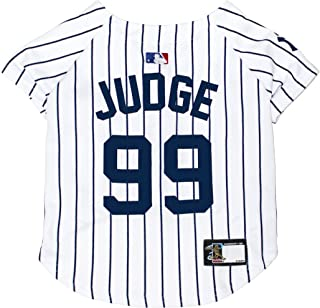 MLBPA Dog Jersey - Aaron Judge #99 Pet Jersey - MLB New York Yankees Mesh Jersey, X-Small