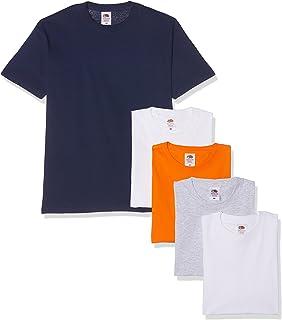 Fruit of the Loom Heavy T-Shirt (Pacco da 5) Uomo