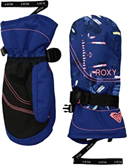 Roxy - Roxy Jetty Girl Mittens (Little Kids/Big Kids)