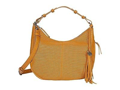 Lucky Brand Ebon Shoulder (Saffron) Handbags
