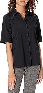Lysse Women's Josie Short Sleeve Button Down