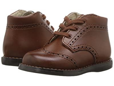 FootMates Cole (Infant/Toddler) (Cognac Burnished) Boys Shoes