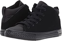 Converse Kids - Chuck Taylor All Star Official Ripstop and Nubuck Mid (Little Kid/Big Kid)