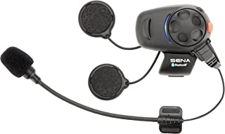 Sena SMH5-01 Low-Profile Motorcycle and Scooter Bluetooth Headset / Intercom (Single)