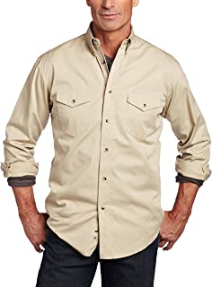 2d6d3f42 Amazon.com: Wrangler - Casual Button-Down Shirts / Shirts: Clothing ...
