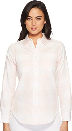 LAUREN Ralph Lauren Plaid Rolled-Cuff Cotton Shirt