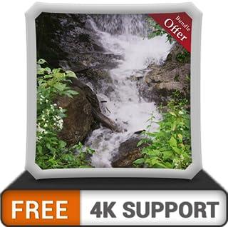 cachoeira legal grátis HD - decore seu quarto com belas paisagens na sua TV HDR 4K, TV 8K e dispositivos de fogo como papel de parede, decoração para as férias de Natal, tema para mediação e paz