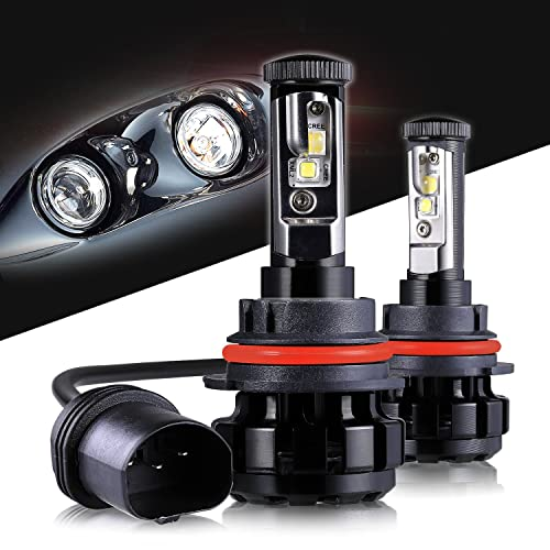 LED Headlight Bulbs 9007 CREE Chips All-in-One Conversion Kit,12000 Lumen