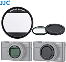 JJC L39 1.9mm Ultra Slim Multi-Coated UV Filter for Sony RX100 V RX100 VI RX100 VII and Canon G7X Mark II G7X Mark III, 19 Layers MC Coated, 99.5% 9HD Hardness, Water Oil Scratch Resistant
