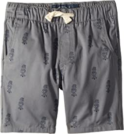 Lucky Brand Kids Pull-On Shorts Printed (Toddler)