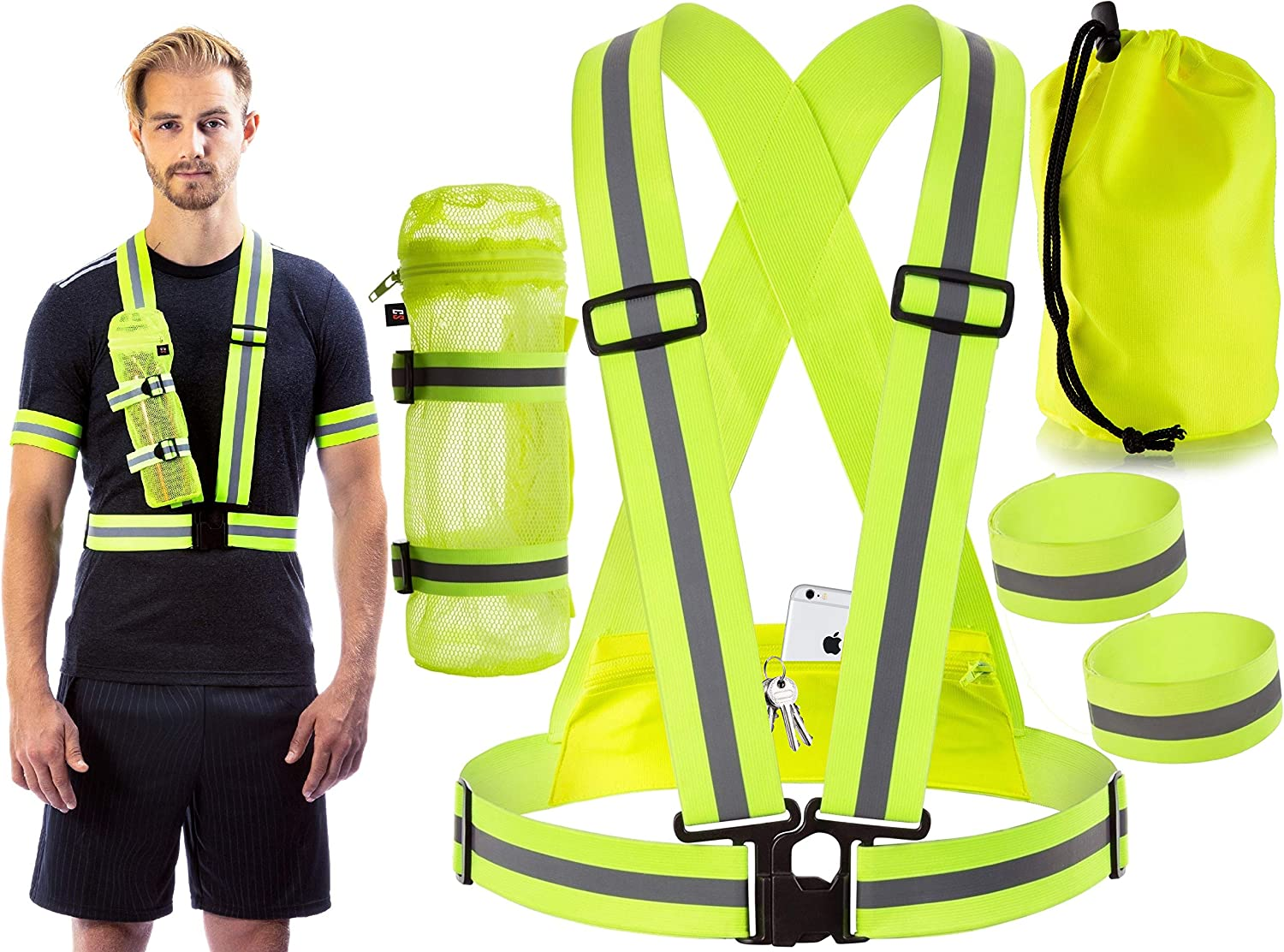 Selling and Our shop most popular selling Clinch Star Reflective Gear for Running Cycling at wit Night