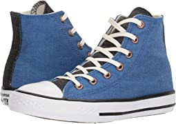 Converse Kids - Chuck Taylor All Star Chambray Hi (Little Kid/Big Kid)