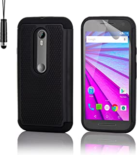 a35911c4a40 32nd® Funda Rígida Anti-Choques de Alta Proteccion para Motorola Moto G 3 (