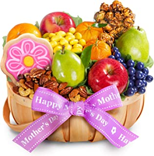 Mother's Day Fruit & Treats Basket