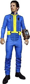 Premium US Size Adult Sole Survivor Nate Blue Jumpsuit Cosplay Costume