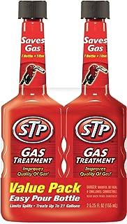 STP 78578 5.25 Ounce, Gas Treatment (5.25 Fluid Ounces) (Pack of 2), 14413