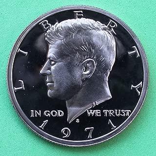 1971 S Gem Proof Kennedy Half Dollar US Coin Half Dollar Uncirculated US Mint
