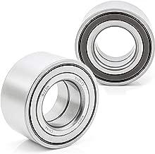 QJZ [2-Pack/Pair] 510112 Front Wheel Bearing, Wheel Hub Ball Bearing - Cross Reference: Timken WB000077
