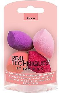 Real Techniques 无害迷你MC化妆海绵,4只装,革命性泡沫技术