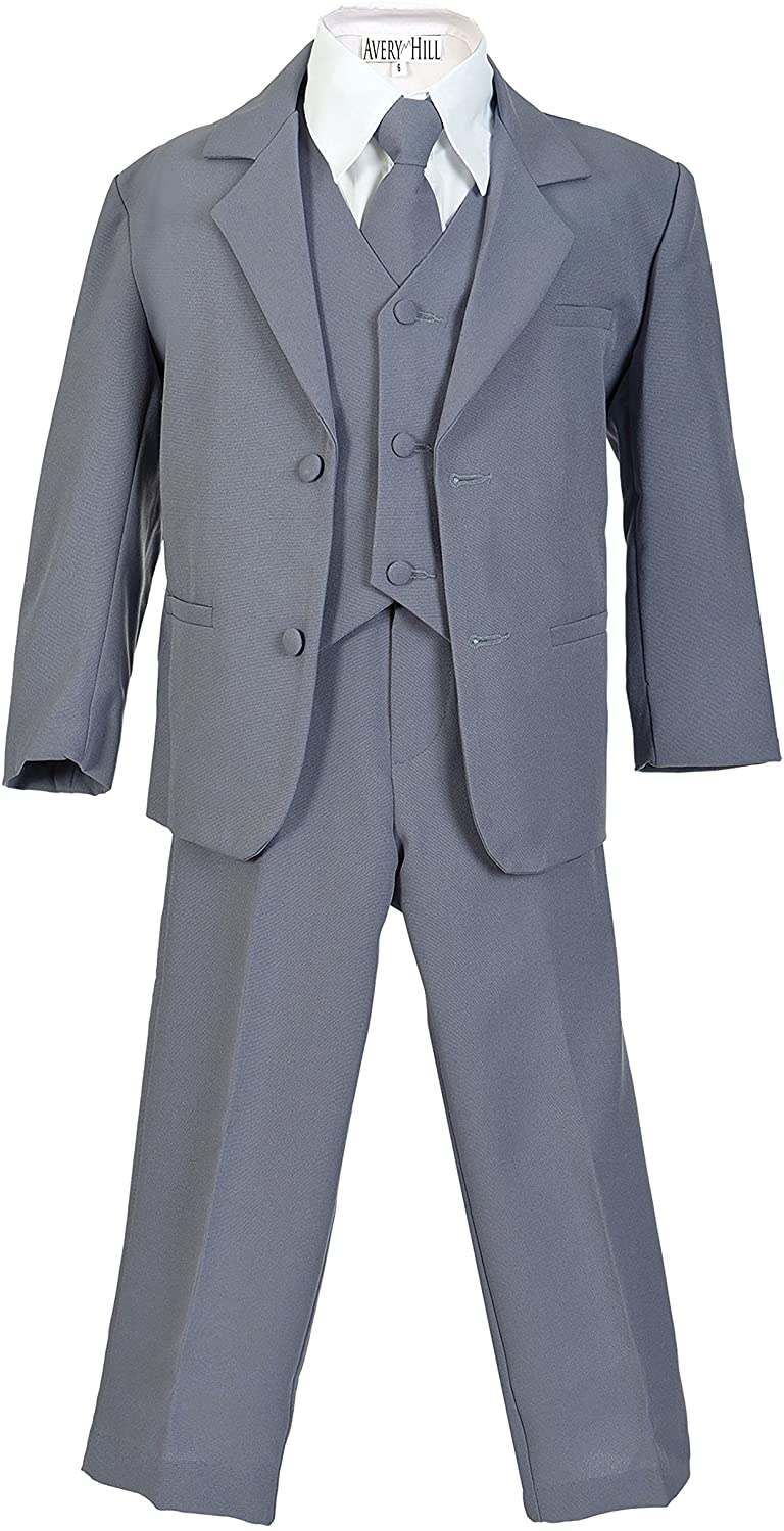 Avery Hill Boys Formal 5 Piece New York Mall Free shipping Vest and with Suit Shirt