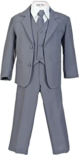 Avery Hill Boys Formal 5 Piece Suit Shirt Vest