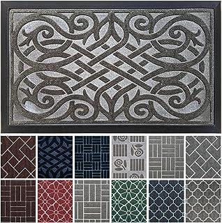 Indoor Door Mat / Outdoor Mat, 18x30 Front Door Mats Outdoor, Outdoor Doormat, Waterproof, Low Profile, Heavy Duty, Outsid...