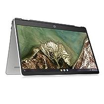 HP Chromebook x360 14-inch (35.56 cms) Thin & Light Touchscreen Laptop (AMD 3015CE/4GB/64GB eMMC Storage/Chrome OS/Ceramic White/1.49 kg), 14a-cb0006AU