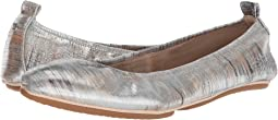 Silver Metallic Noise Leather/Silver Noise Leather