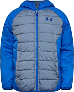 under armour boys storm insulated pullover swacket jacket