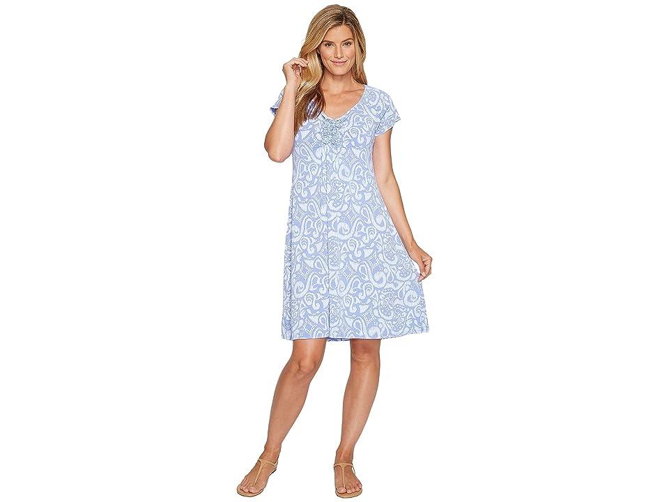 Fresh Produce Wander Emma Dress (Periwinkle) Women