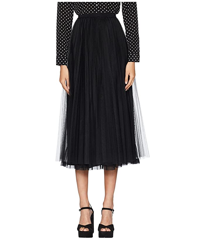558bef61ba RED VALENTINO Tulle and Soft Point D'Esprit Skirt at Zappos.com