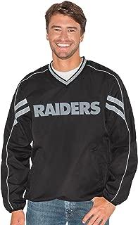 raiders v neck pullover