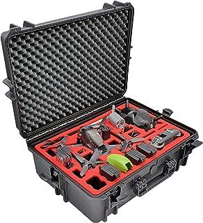 حقيبة حمل احترافية لـ DJI FPV Combo مع دعامة أيضًا - مجموعة Fly More - حقيبة حمل - صنع في ألمانيا