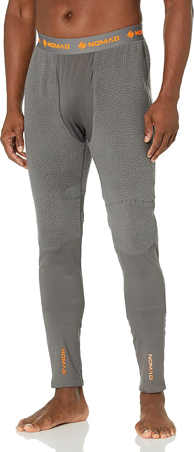 Nomad Men's Cottonwood Baselayer Grey 2X-Larg Max 64% OFF Outlet sale feature Legging Charcoal