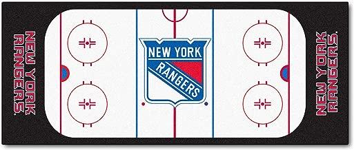 FANMATS NHL New York Rangers Nylon Face Football Field Runner