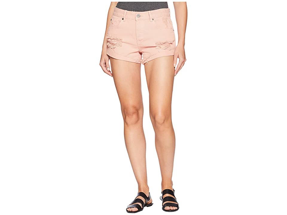 Amuse Society Crossroads Shorts (Pink) Women's Shorts