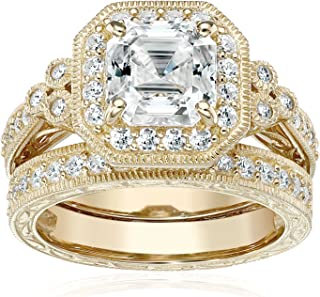 Best bridal sets wedding rings yellow gold Reviews